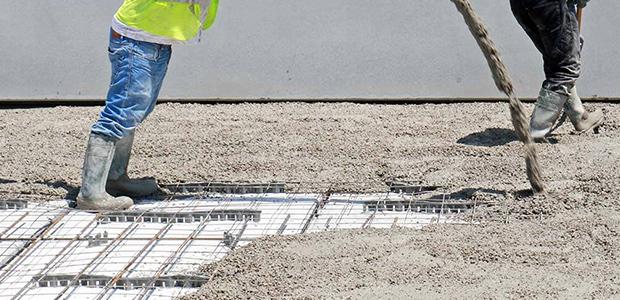 Bau betonbauarbeiten